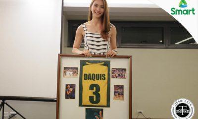 Tiebreaker Times FEU retires Daquis Number 3 FEU News UAAP Volleyball  UAAP Season 79 Women's Volleyball UAAP Season 79 Rachel Daquis FEU Women's Volleyball