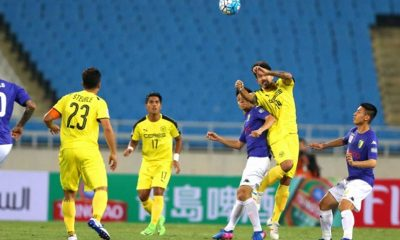 Tiebreaker Times Ceres-Negros earns valuable point against Hanoi FC AFC Cup Football News  Roland Muller Risto Vidakovic Phi Minh Long Nguyen Van Quyet Hanoi FC Chu Dinh Nghiem Ceres-La Salle FC Bienvenido Marañon 2017 AFC Cup Group G 2017 AFC Cup