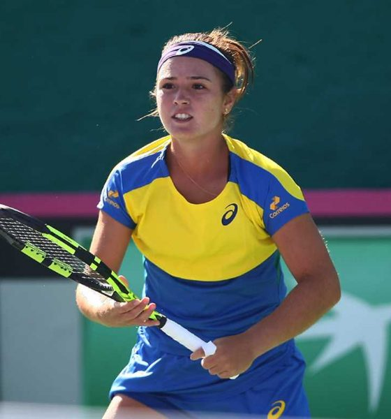 Tiebreaker Times Philippine Fed Cup squad crashes back to Group II Fed Cup News Tennis  Khim Iglupas Katharina Lehnert 2017 Fed Cup Asia/Oceania Zone Group I
