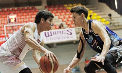 Tiebreaker Times Batangas makes it two in a row, eliminates Blustar Basketball News PBA D-League  Tristan Perez Province of Batangas (PBA D-League) Liaw Chee Huei Lee Kheng Tian Joseph Sedurifa Jason Melano Eric Gonzales Dan Sara Cedric Ablaza Blustar Detergent Dragons 2017 PBA D-League Season 2017 PBA D-League Aspirants Cup