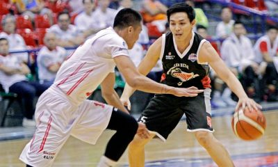 Tiebreaker Times Cignal-San Beda cruises to fourth straight win Basketball News PBA D-League  Tristan Perez Robert Bolick Jason Melano Goh Cheng Huat Davon Potts Cignal-San Beda Hawkeyes Byron Villarias Boyet Fernandez 2017 PBA D-League Season 2017 PBA D-League Aspirants Cup