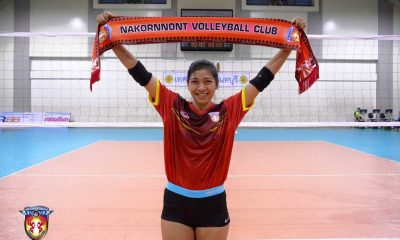 Tiebreaker Times Valdez scores thrice; 3BB falls to Supreme News Volleyball  Alyssa Valdez 3BB Nakornonnt 2016-17 Thailand League