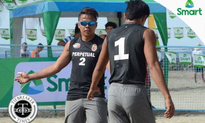 Tiebreaker Times Perpetual's Taneo brothers eye redemption NCAA News UPHSD Volleyball  Rey Taneo Jr. Relan Taneo Perpetual Men's Volleyball NCAA Season 92 Men's Beach Volleyball NCAA Season 92