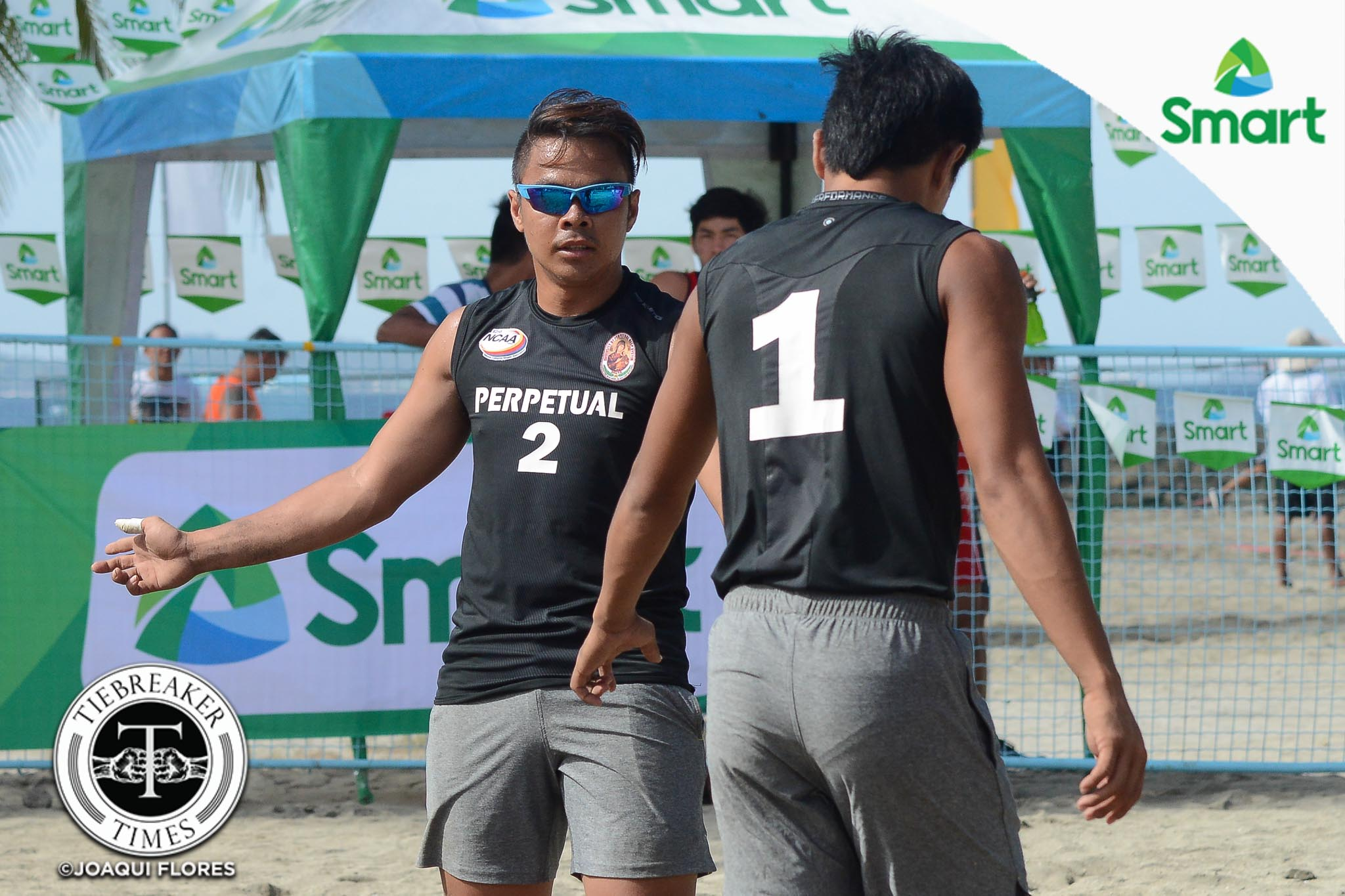 Philippine Sports News - Tiebreaker Times Perpetual's Taneo brothers eye redemption NCAA News UPHSD Volleyball  Rey Taneo Jr. Relan Taneo Perpetual Men's Volleyball NCAA Season 92 Men's Beach Volleyball NCAA Season 92