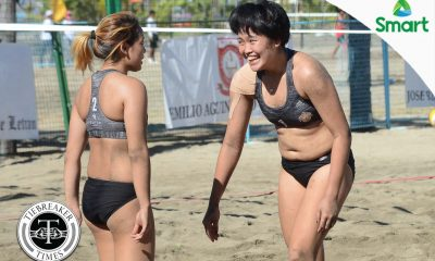 Tiebreaker Times San Sebastian's Soltones, Eroa return to the Finals AU Beach Volleyball CSB CSJL EAC JRU LPU MIT NCAA News SBC SSC-R UPHSD  Shola Alvarez San Sebastian Women's Volleyball San Beda Women's Volleyball Rosalie Pepito Perpetual Women's Volleyball Nieza Viray NCAA Season 92 Women's Beach Volleyball NCAA Season 92 Marijo Medalla Mapua Women's Volleyball Lyceum Women's Volleyball Letran Women's Volleyball JRU Women's Volleyball Jeziela Viray Grethcel Soltones Bianca Tripoli Benilde Women's Volleyball Arellano Women's Volleyball Alyssa Eroa