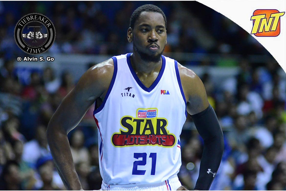 Tiebreaker Times Denzel Bowles gets new chance, signs with Rain or Shine Basketball News PBA  Rain or Shine Elasto Painters PBA Season 44 Denzel Bowles 2019 PBA Commissioners Cup