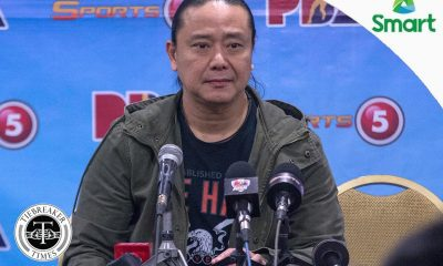 Tiebreaker Times Chua, SMC express concern over Racela's statement Basketball News PBA  San Miguel Beermen PBA Season 42 Alfrancis Chua 2016-17 PBA All Filipino Conference