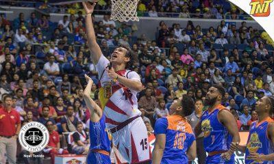 Tiebreaker Times Fajardo commends TNT's defense, vows to bounce back Basketball News PBA  San Miguel Beermen PBA Season 42 June Mar Fajardo 2016-17 PBA All Filipino Conference