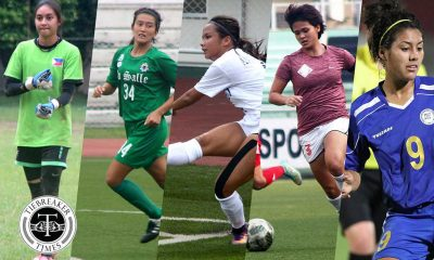 Tiebreaker Times Pinay booters want Asian Cup Qualifier preparations to start soon Football News Philippine Malditas  Sara Castaneda Nona Amoncio Jesse Shugg Inna Palacios Christina De los Reyes 2017 AFC Women's Asian Cup Qualifiers