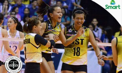 Tiebreaker Times Overconfident Rondina absorbs blame for opening day loss News UAAP UST Volleyball  UST Women's Volleyball UAAP Season 79 Women's Volleyball UAAP Season 79 Cherry Rondina