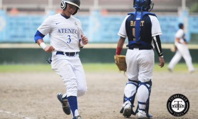 Tiebreaker Times Macasaet bros. lead Ateneo past National U ADMU Baseball News NU UAAP  UAAP Season 79 Baseball UAAP Season 79 Saki Bacarisas Ryan Hilario Randy Dizer Paulo Macasaet NU Baseball Marquis Alindogan Junmar Diarao Javi Macasaet Ateneo Baseball
