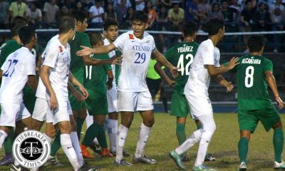 Tiebreaker Times Ateneo's Rocha on strong start: 'Each and everyone is a leader here' ADMU Football News UAAP  UAAP Season 79 Men's Football UAAP Season 79 Jeremiah Rocha Ateneo Men's Football