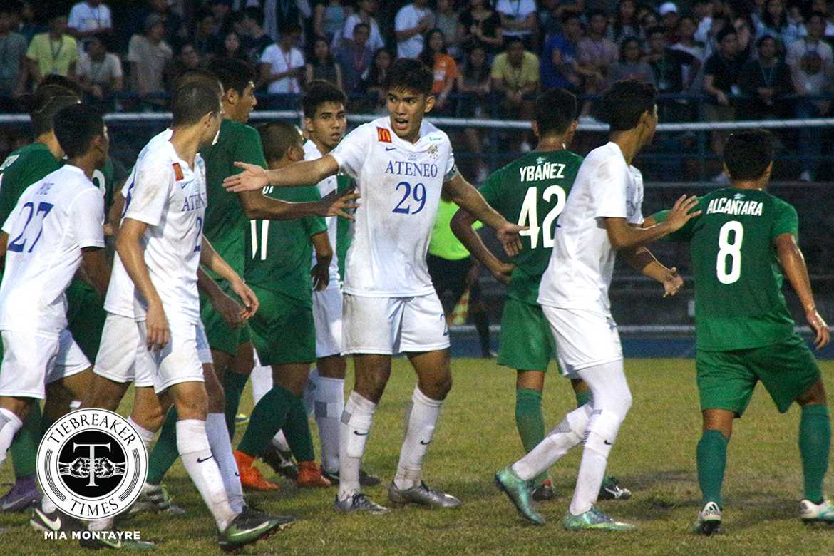 Philippine Sports News - Tiebreaker Times Ateneo's Rocha on strong start: 'Each and everyone is a leader here' ADMU Football News UAAP  UAAP Season 79 Men's Football UAAP Season 79 Jeremiah Rocha Ateneo Men's Football