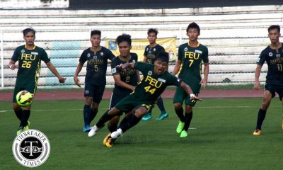 Tiebreaker Times Pepito howler grants FEU win over struggling NU FEU Football News NU UAAP  Vince Santos UAAP Season 79 Men's Football UAAP Season 79 Ray Joyel NU Men's Football Mari Aberasturi Hayeson Pepito FEU Men's Football Audie Menzi