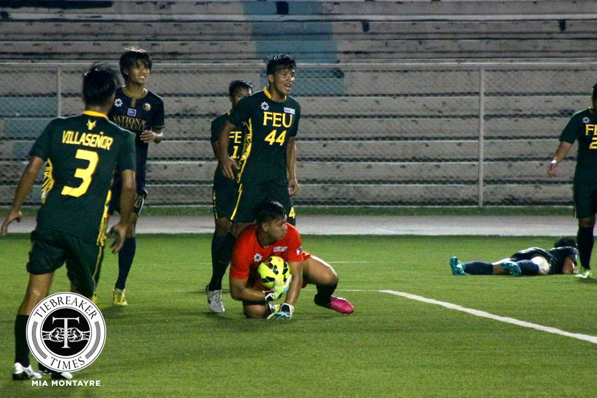 Philippine Sports News - Tiebreaker Times Tamaraws drag Fighting Maroons to first scoreless match FEU Football News UAAP UP  UP Men's Football UAAP Season 80 Men's Football UAAP Season 80 Park Bo Bae FEU Men's Football Dave Parac Anton Yared Anto Gonzales