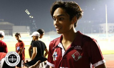 Tiebreaker Times UP winger Ray Sanciangco flutters in UAAP debut Football News UAAP UP  UP Men's Football UAAP Season 79 Men's Football UAAP Season 79 Ray Sanciangco