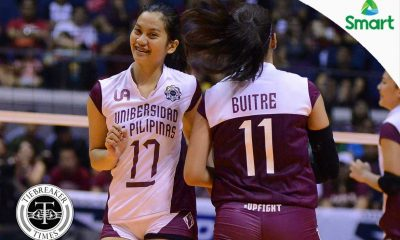 Tiebreaker Times Lady Maroons brace for bigger challenge News UAAP UP Volleyball  UP Women's Volleyball UAAP Season 79 Women's Volleyball UAAP Season 79 Jerry Yee Arielle Estranero