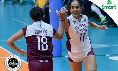 Tiebreaker Times 'Ikot' celebration a softening of UP's rigid system News UAAP UP Volleyball  UP Women's Volleyball UAAP Season 79 Women's Volleyball UAAP Season 79 Tots Carlos