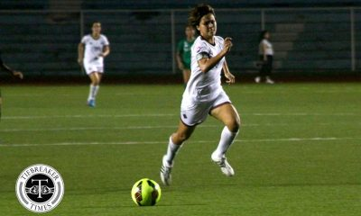 Tiebreaker Times De Los Reyes urges Lady Maroons to rise above struggles in title defense Football News UAAP UP  UP Women's Football UAAP Season 79 Women's Football UAAP Season 79 Cristina Delos Reyes