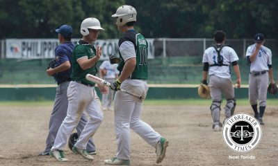 Tiebreaker Times La Salle solves Adamson riddle late to keep pace with UST AdU Baseball DLSU News UAAP  UAAP Season 79 Baseball UAAP Season 79 Paul Naguit Paolo Salud Orlando Binarao Joseph Orillana Erwin Bosito DLSU Baseball Diego Lozano Al Jayson Benito Adamson Baseball
