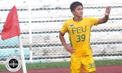 Tiebreaker Times Loyalty to FEU pushed Bugas' return FEU Football News UAAP  UAAP Season 79 Men's Football UAAP Season 79 Paolo Bugas FEU Men's Football