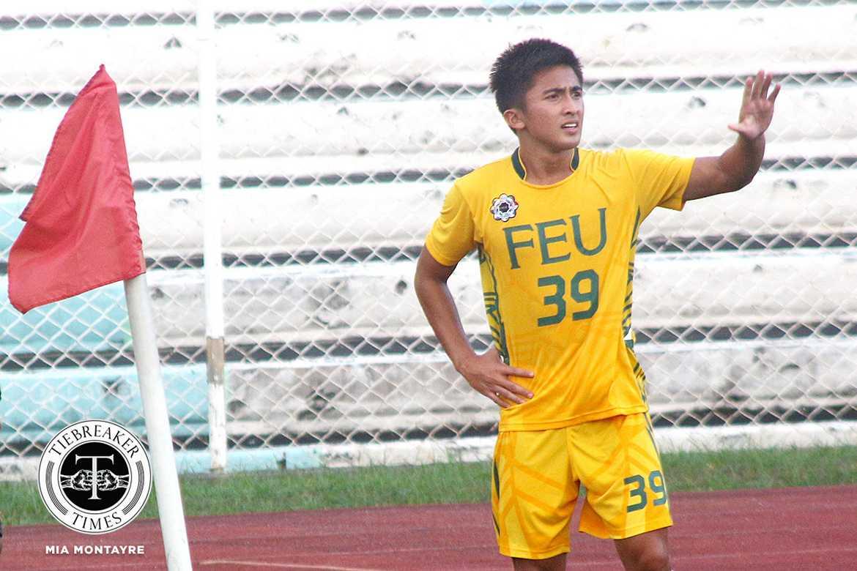 Philippine Sports News - Tiebreaker Times Loyalty to FEU pushed Bugas' return FEU Football News UAAP  UAAP Season 79 Men's Football UAAP Season 79 Paolo Bugas FEU Men's Football