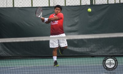 Tiebreaker Times Red-hot Red Warriors romp to fourth straight at Bulldogs expense News NU Tennis UAAP UE  UE Men's Tennis UAAP Season 79 Men's Tennis UAAP Season 79 Rodolfo Barquin Paulo Baran NU Men's Tennis Kiko Alcantara Josshua Kinaadman Jeric Delos Santos AJ Lim AJ Alejandre