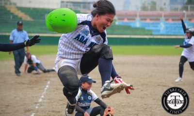 Tiebreaker Times Adamson digs deep, turns back National U in extra inning thriller AdU News NU Softball UAAP  UAAP Season 79 Softball UAAP Season 79 Princess Jurado NU Softball Mia Macapagal Lorna Adorable Ghene Nietes Edgar delos Reyes Diana Balderama Angelie Ursabia Ana Santiago Adamson Softball