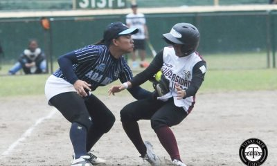 Tiebreaker Times Lady Falcons batter Lady Maroons to extend streak to 5 AdU News Softball UAAP UP  UP Softball UAAP Season 79 Softball UAAP Season 79 Riflayca Basa Florable Pabiana Ella Martinez Ana Santiago Alex Causapin Adamson Softball