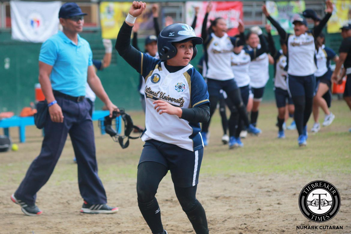 Tiebreaker Times Lady Bulldogs rally back against Lady Warriors in extra inning thriller News NU Softball UAAP UE  UE Softball UAAP Season 79 Softball UAAP Season 79 Roxzell Niloban NU Softball Lovely Redaja Edgar delos Reyes Edcel Bacarisas Dyan Arago Charlene Quintos Aimee Watson