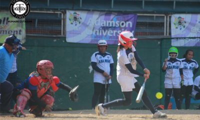 Tiebreaker Times Adamson makes quick work of Ateneo in prep for UST showdown ADMU AdU News Softball UAAP  UAAP Season 79 Softball Princess Jurado Nikki Borromeo Krisha Cantor Florable Pabiana Dione Macasu Ateneo Softball Angelie Ursabia Adamson Softball