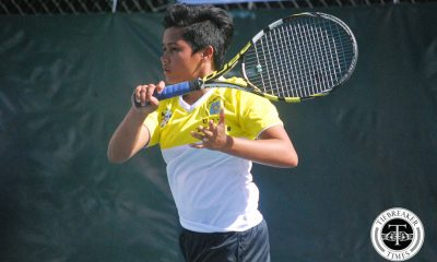 Tiebreaker Times UST edges out La Salle for second straight DLSU News Tennis UAAP UST  UST Women's Tennis UAAP Season 79 Women's Tennis UAAP Season 79 Shymae Gitalan Rachelle De Guzman Jenni Dizon Ingrid Gonzales Genevieve Caorte DLSU Women's Tennis April Santos