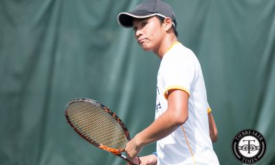 Tiebreaker Times Streak-busting Tigers: UST sends NU to first loss in five years News NU Tennis UAAP UST  UST Men's Tennis UAAP Season 79 Men's Tennis UAAP Season 79 NU Men's Tennis Nico Lanzando Kiko Alcantara Jigo Peña Dave Mosqueda Clarence Cabahug Allen Manlangit AJ Alejandre