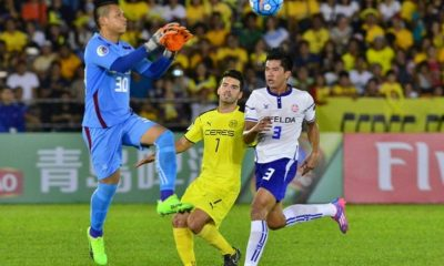 Tiebreaker Times Müller heroics saves Ceres-Negros from FELDA upset AFC Cup Football News  Sathianathan Bhaskaran Roland Muller Risto Vidakovic Mohd Farizal Felda United Ceres-La Salle FC 2017 AFC Cup Group G 2017 AFC Cup