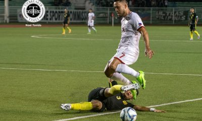 Tiebreaker Times Philippines bucks missed penalty, earns away win against Maldives Football News Philippine Azkals  Scott Cooper Patrick Strauss Neil Etheridge Maldives (Football) Iain Ramsay 2022 World Cup Qualifiers