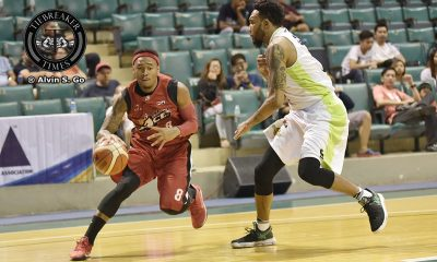 Tiebreaker Times Alaska rips Romeo-less Globalport by 28 Basketball News PBA  Stanley Pringle Sonny Thoss Sean Williams PBA Season 42 Globalport Batang Pier Franz Pumaren Cory Jefferson Calvin Abueva Alex Compton Alaska Aces 2017 PBA Commissioners Cup