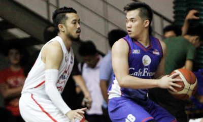 Tiebreaker Times Cafe France-CEU spurns AMA to keep hold of second Basketball News PBA D-League  Rod Ebondo Paul Desiderio Mark Herrera Juami Tiongson Jeron Teng Egay Macaraya Cafe France-CEU Bakers AMA Online Education Titans 2017 PBA D-League Season 2017 PBA D-League Aspirants Cup