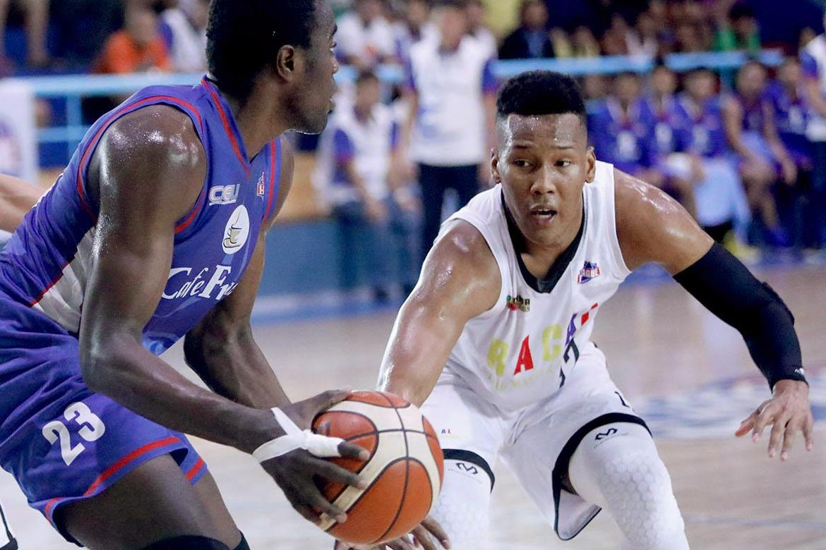 Tiebreaker Times Onwubere shows off added arsenal in Racal's Game One win Basketball News PBA D-League  Sidney Onwubere Racal Tile Masters 2017 PBA D-League Season 2017 PBA D-League Aspirants Cup