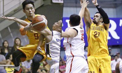 Tiebreaker Times Ex-pros Gaco, Cruz serving as Tanduay's anchors Basketball News PBA D-League  Tanduay Rhum Masters Mark Cruz Jerwin Gaco 2017 PBA D-League Season 2017 PBA D-League Aspirants Cup
