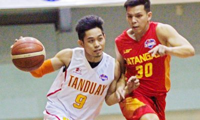 Tiebreaker Times Cruz, Gaco lift Tanduay past Batangas Basketball News PBA D-League  Tanduay Rhum Masters Province of Batangas (PBA D-League) Mark Cruz Lawrence Chongson Joseph Sedurifa Jessie Saitanan Jerwin Gaco Jaymo Eguilos Eric Gonzales Dan Sara 2017 PBA D-League Season 2017 PBA D-League Aspirants Cup