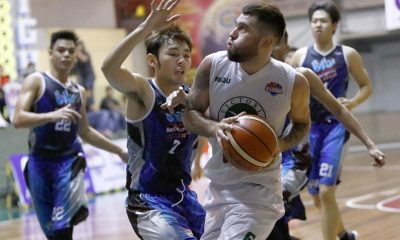 Tiebreaker Times Herdon, Victoria Sports-MLQU end campaign on high note Basketball News Volleyball  Victoria Sports-MLQU Stallions Tristan Perez Ryusei Koga Robbie Herndon Michael Ayonayon Lee Kheng Tian Jinino Manansala Blustar Detergent Dragons Alvin Vui HangAng 2017 PBA D-League Season 2017 PBA D-League Aspirants Cup
