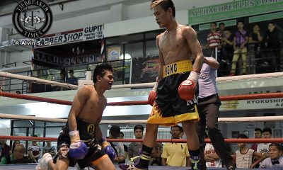 Tiebreaker Times Heno remains undefeated, claims vacant PBF light flyweight belt Boxing News  Roli Gasca Richard Pumicpic Edward Heno Cris Ganoza Jr.