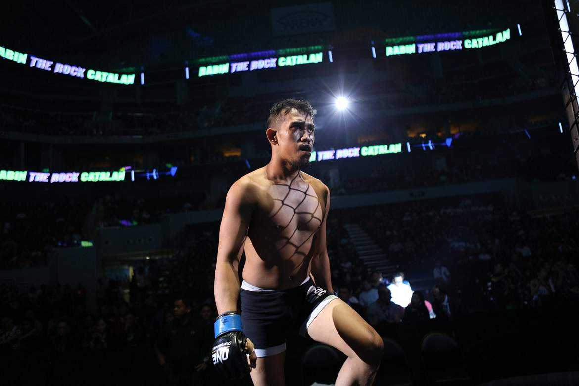Tiebreaker Times MUMMA lifts up disheartened Rabin Catalan Mixed Martial Arts News ONE Championship  Rabin Catalan ONE: Warrior Kingdom Mindanao Ultimate Mixed Martial Arts