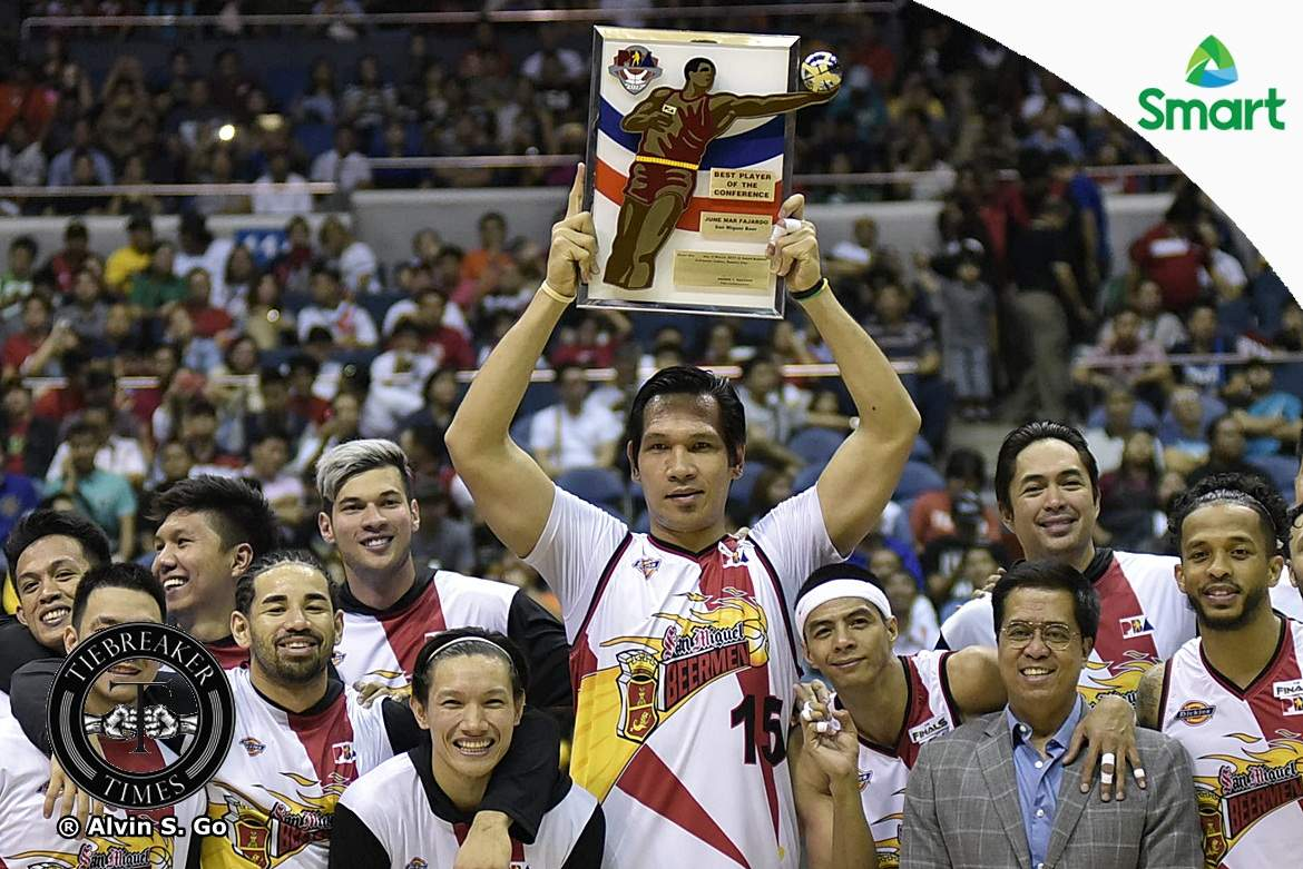 Philippine Sports News - Tiebreaker Times June Mar Fajardo set to win 6th BPC crown Basketball News PBA  Stanley Pringle Scottie Thompson PBA Season 43 Matthew Wright Kiefer Ravena June Mar Fajardo JP Erram Jayson Castro Japeth Aguilar Calvin Abueva Arwind Santos Alex Cabagnot 2017-18 PBA Philippine Cup