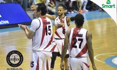 Tiebreaker Times Beermen no longer surprised with Ross' shooting Basketball News PBA  San Miguel Beerman PBA Season 42 Marcio Lassiter Chris Ross Arwind Santos 2016-17 PBA All Filipino Conference