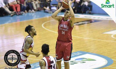 Tiebreaker Times Ferrer moves on from drama of Finals series Basketball News PBA  PBA Season 42 Kevin Ferrer Barangay Ginebra San Miguel 2016-17 PBA All Filipino Conference