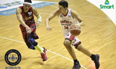 Tiebreaker Times Ross tips Ferrer: 'Just keep doing what you're supposed to do' Basketball News PBA  PBA Season 42 Kevin Ferrer Chris Ross Barangay Ginebra San Miguel 2016-17 PBA All Filipino Conference