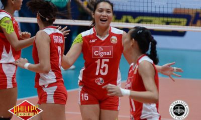 Tiebreaker Times Royse Tubino set to return for Cignal's AFC campaign News PSL Volleyball  Royse Tubino Rose Doria Lutgarda Malaluan Edgar Barroga Cignal HD Spikers 2018 PSL Season 2018 PSL All Filipino Conference