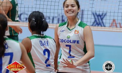Tiebreaker Times Cocolife smashes Cherrylume anew News PSL Volleyball  Mika Esperanza Michele Gumabao Mary Mendrez Lerma Giron Kungfu Reyes Denden Lazaro Cocolife Asset Managers Cherrylume Iron Lady Warriors 2017 PSL Season 2017 PSL All Filipino Conference
