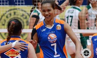 Tiebreaker Times Casugod powers Generika-Ayala over Sta. Lucia in classification match News PSL Volleyball  Sta. Lucia Lady Realtors Michael Carino Lourdes Clemente Janine Navarro Geneveve Casugod Generika Lifesavers Francis Vicente Fiola Ceballos Bia General Angelica Legacion 2017 PSL Season 2017 PSL Invitational